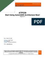 Autocad Architecture Segment 3