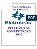 ELETROBRAS 07Relatório Da Administração 2006