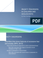 anxiety disorders in children and adolescents 1