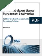 Enterprise Software License Management Best Practices