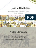 The Road to Revolution Powerpoint