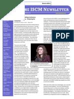 ISCM Newsletter - Vol VII - 1H
