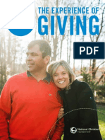 NCF 2014 Ministry Report - The Experience of Giving
