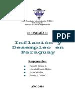 Inflación y Desempleo en Paraguay