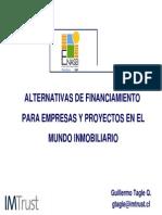 Presentaci Financiamiento Empresas Proyectos Mundo Inmobiliario