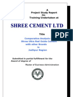 shree cement marketing