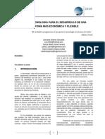 Tecnología Para El Desarrollo de Una Telefonía Más Económica y Flexible