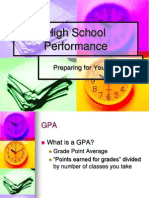 high school performance