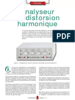 Analyseur de Distorsion Harmonique