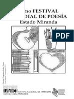 061) 10mo Festival Mundial de Poesía Sede Miranda
