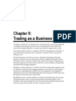 Trading as a Business - Chap 9