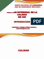 Uni Gestion Integral de Lacalidad Intoduccion