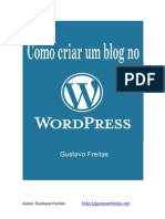 Criar Blog - Word Press Platform