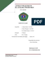 Laporan Praktikum UV-VIS 2