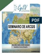 SEMINARIO ARCGIS