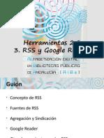 Rss y Google Reader