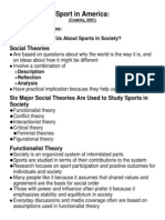 Sport Theory