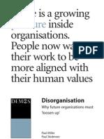 Miller, P. & Skidmore, P. (2004). Disorganisation