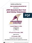 Qld Championships 2009 Full Announcement