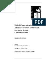 Ademco - Dc05 Contact Id