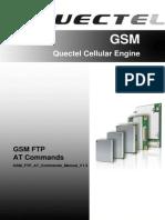 GSM FTP at Commands Manual V1.3