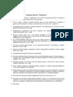 Globalizare - Propuneri Subiecte, 2014
