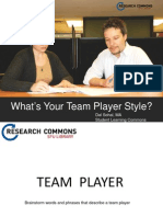 Parker Team Player for Grad Students.ppt