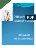 Behavioural Management in Children [Compatibility Mode]