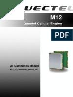 Quectel M12 at Commands Manual V3 2