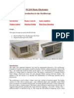 PC2193 Basic Electronics-Oscilloscope