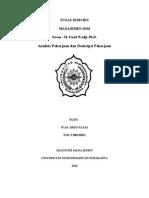 Analisis Dan Deskripsi Pekerjaan (Ivan Ardo Fatas)