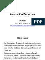 proyecto asociacion deportiva