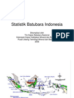 Statistik Batubara Indonesia