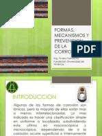 Formas, Mecanismos y Prevencion de La Corrosion