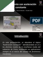 PPT Aceleración Constante