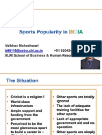 Sports Vaibhav Maheshwari XLRI