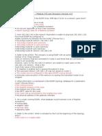 CCNA Exploration 2 - Module 9 Exam Answers Version 4.0