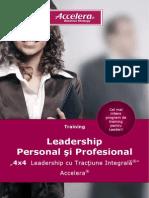4x4 Leadership Cu Tractiune Integrala