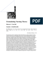 Formulating Nursing Theory