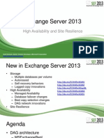 Exchange Server 2013 High Availability