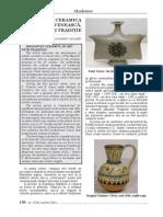 Ceramica Moldoveneasca o Arta de Traditie