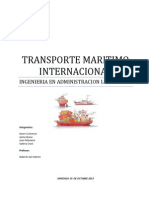 Grupo 9 Transporte Maritimo