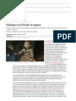 Velázquez en El Prado, El Regreso _ Cultura _ EL PAÍS