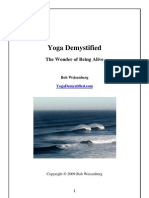 Yoga Demystified--The Wonder of Being Alive