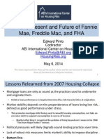 The past, present, and future of Fannie Mae, Freddie Mac, and FHA