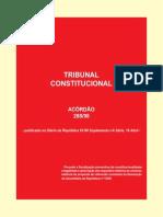 Acórdão 228 de 1998 Do Tribunal Constitucional - Fiscalização Preventiva Da Constitucionalidade Do Referendo Sobre a Despenalização Da Interrupção Voluntária Da Gravidez (2)