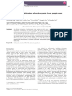 2009 - Extraction and Identification of Anthocyanin From Purple Corn