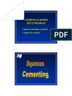 07 Cementaciones Secundarias - Squeeze