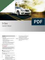 2009 Mercedes Benz Manual