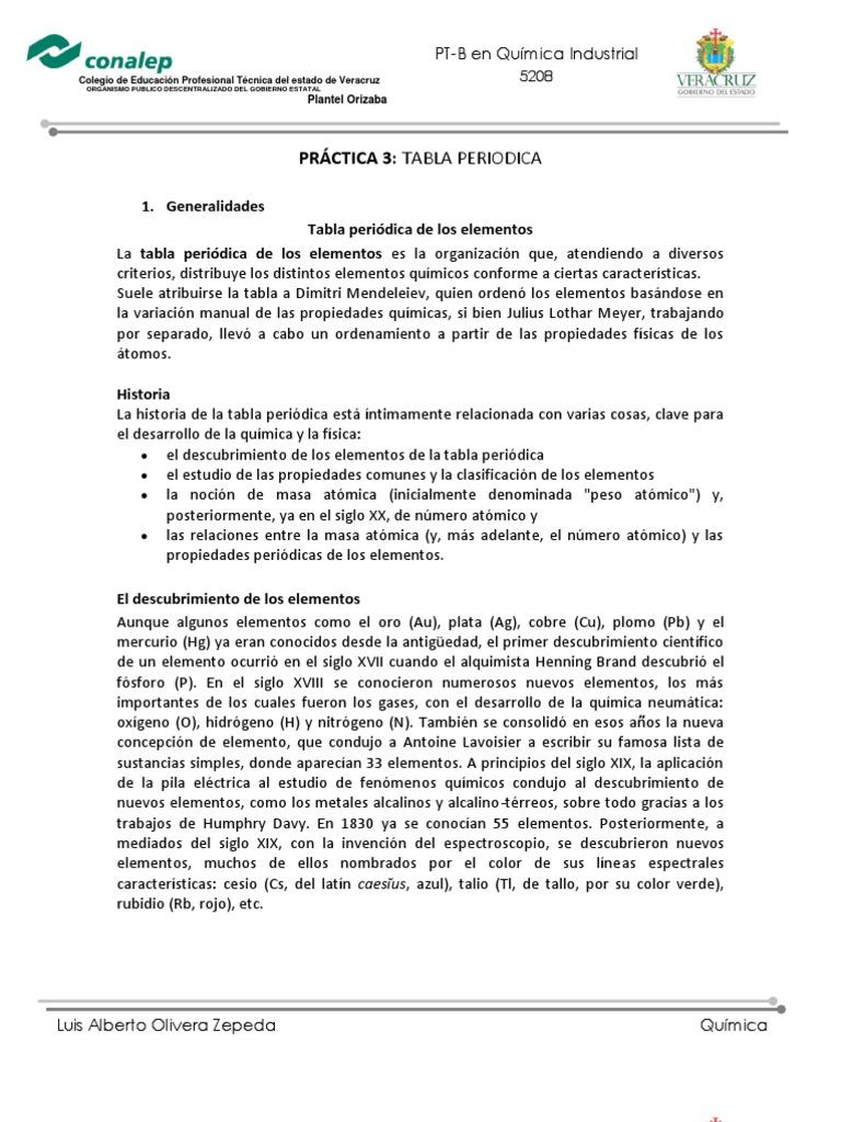 Practica 3 quimica conalep urtaz Choice Image